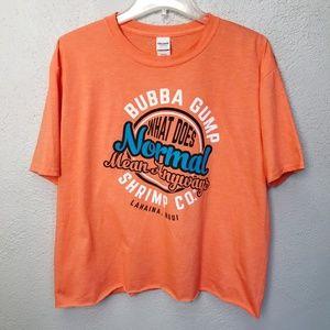 Bubba Gump Maui T-Shirt Orange XL